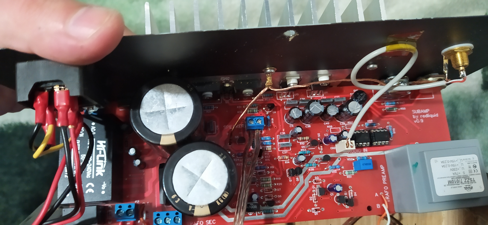 Masowanie radiatora